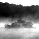 Chittning Island - Black and White