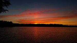 Sunset-Grass-Lake