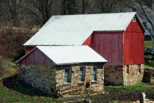Red Barn - Hecla, NY